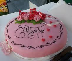 lagkage - Danish birthday cake