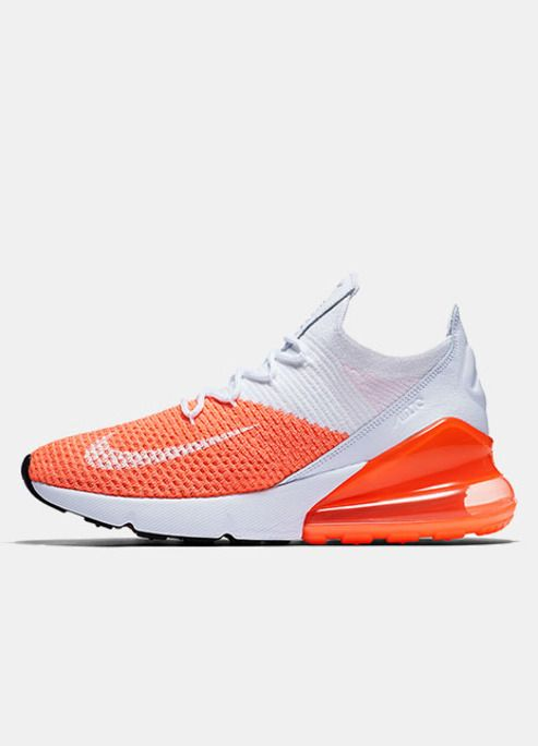 new styles 1d889 b6732 Slip Into Some Spring Zing With Nikes Air Max 270 Flyknit Crimson Pulse