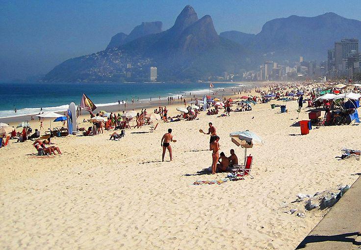 Ipanema Beach, Brasilien