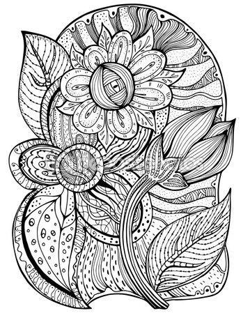 Mandalas De Frutas Para Colorear 3 Mandalas Para Colorear
