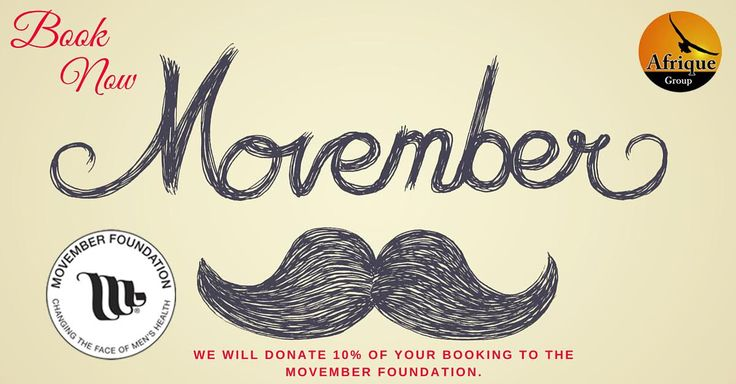 Help us support this great cause. #movember