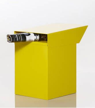 POst Box Modern BOX - yellow