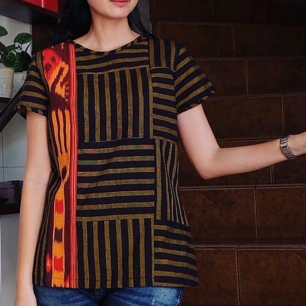 Aster Blouse nnf  LD>S:88cm M:92cm M:98cm XL:106cm  P.Baju:65cm P.Tgn:17cm  Material:TenunBatik . . CP  LINE @bebatikanjogja (pakai '@')  WA 081904019099 (slow response)  Toko Baju Batik Modern | http://ift.tt/2flJQTw