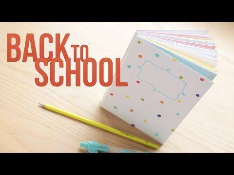 Back to school: как сделать блокнот с нуля - YouTube