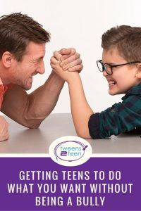 Parenting teens requires a careful mix of exercising authority but giving them some power too.