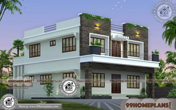 Indian House Plan Designs Free 80 2 Story House With Balcony Design Small House Design Exterior Indian House Plans Balcony Design