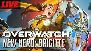 First Look at Brigitte The New Overwatch Support Hero On PTR