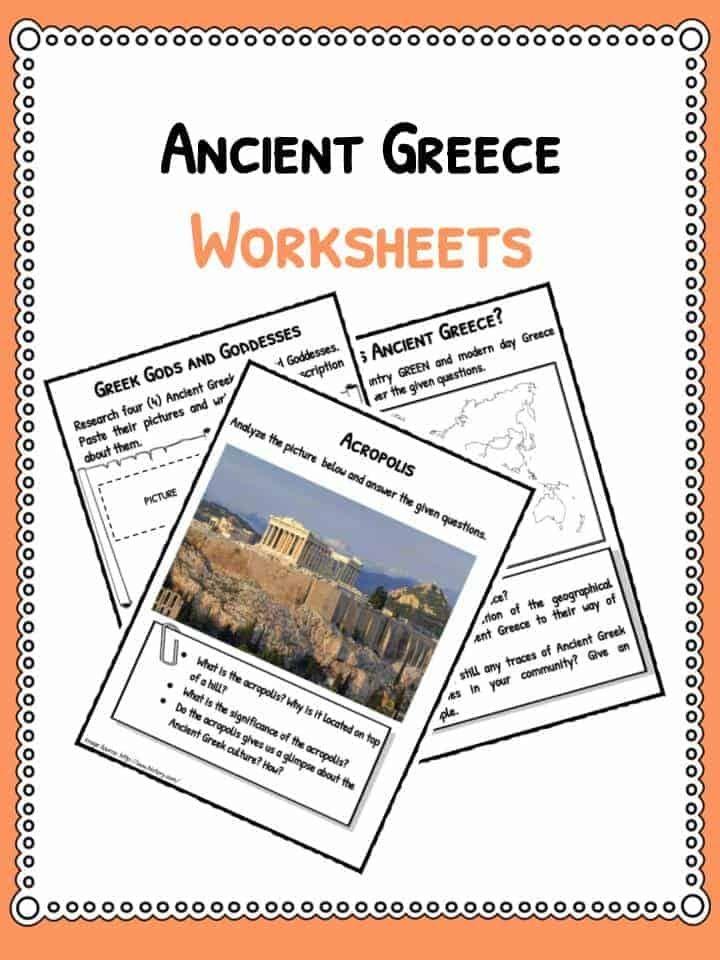 41++ Ancient greece worksheets pdf Information