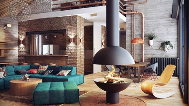 2719 besten Décor de style industriel - Industrial loft Bilder auf ...