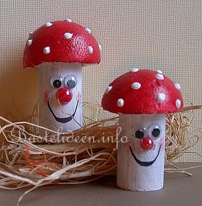 Freundliche Kork Pilzen