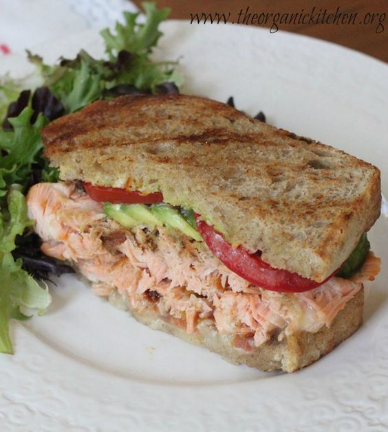 Eating Our Way Across Europe ~ Ireland part 2: Scottish Salmon Sandwich | The Organic Kitchen Blog and Tutorials