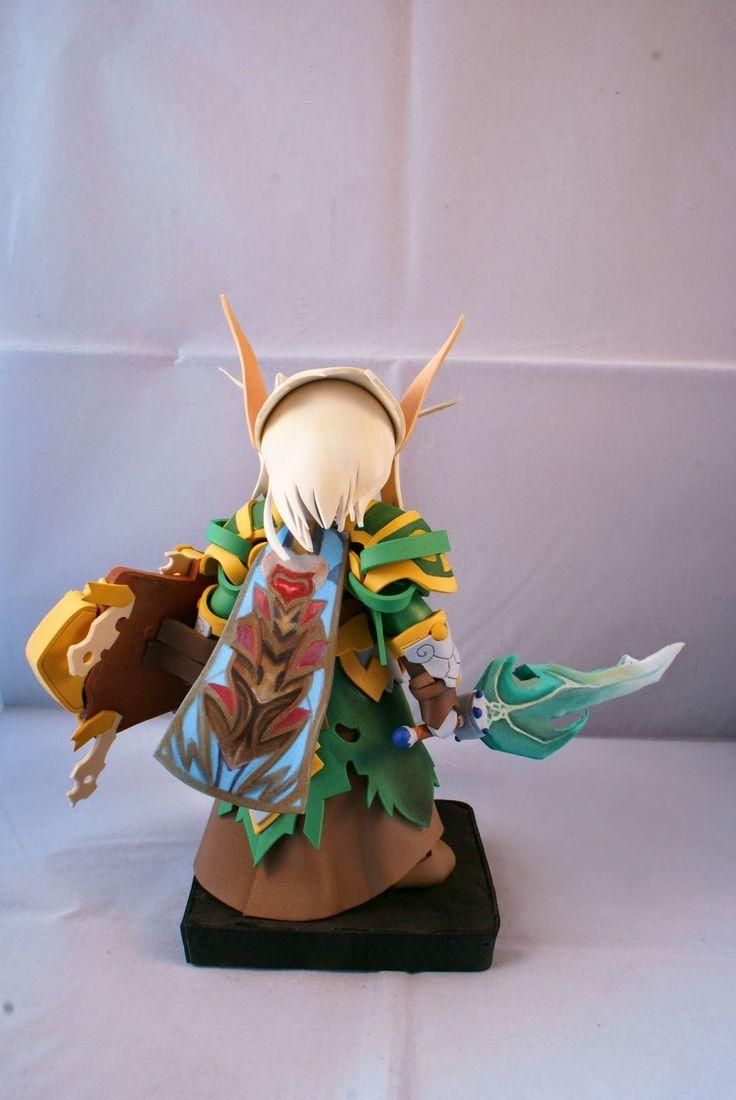 Friki Fofuchas: Frikifofuchas: Elfo World of Warcraft 2