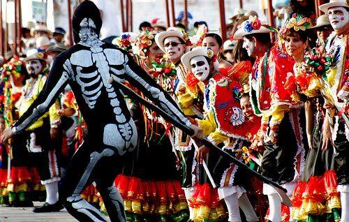 La Muerte, Danza del Garabato, Carnaval de Barranquilla
