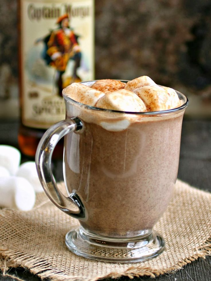 Sweet, Spiked and Spicy Hot Chocolate #recipe