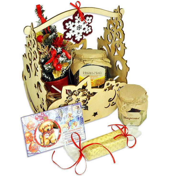 Сладкая корзина подарков – Профессиональные сувениры