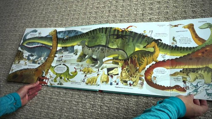 An enormous new book for kids fascinated by gigantic dinosaurs.  Full of the biggest dinosaurs on land, in the sea and in the air.  Includes giant foldout pages to show the most enormous dinosaurs.  A simple timeline at the end shows when each dinosaur roamed the earth.