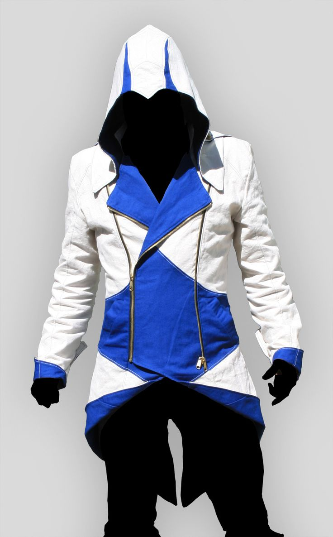 Assassin's Creed jacket.Assassinscreed, Creed Jackets, Assassins Creed, Clothing, Videos Games, Kenway Jackets, Volante Design, Creed Iii, Creed Hoodie