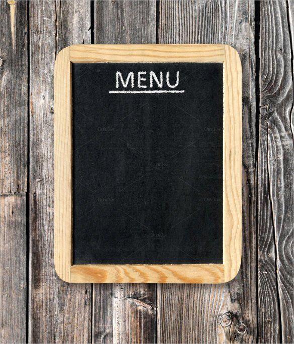 Blank Restaurant Menu Template Awesome 33 Menu Board Templates