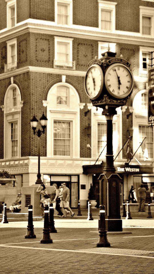Where I was born.  Downtown Greenville SC
