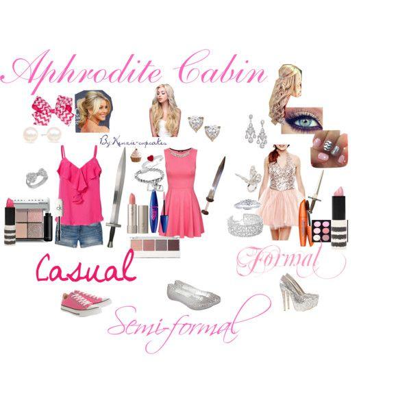 Fictional Fashion: Aphrodite Cabin - Percy Jackson