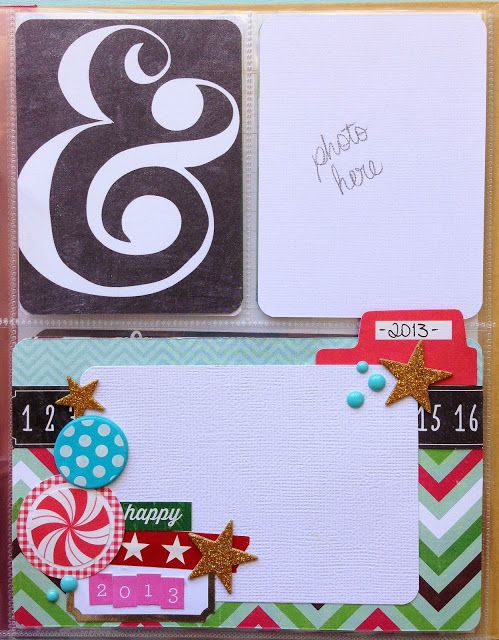 Bottom Card | Karen M. Andersen: My December Daily (Part 3) - putting your album together