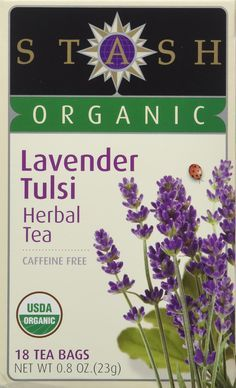 Stash Tulsi Tea With Lavender