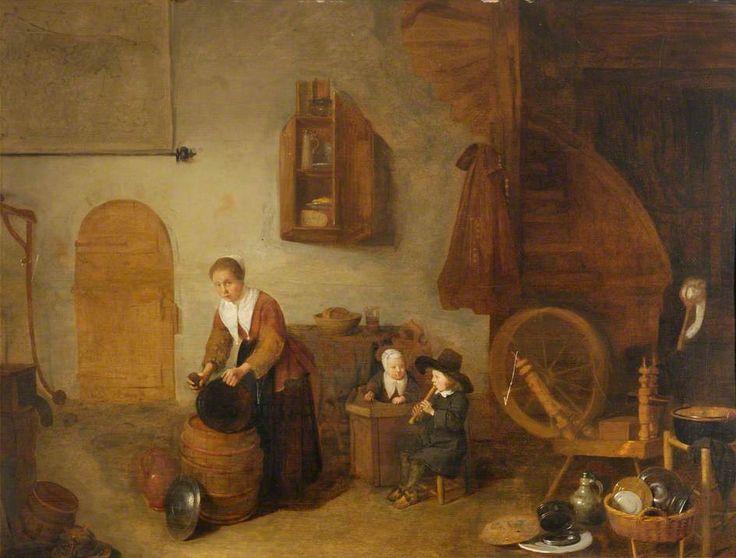 17 Best Images About Art Dutch Golden Age Painting 1615: 43 Best Images About Interiors In Dutch Painting On Pinterest