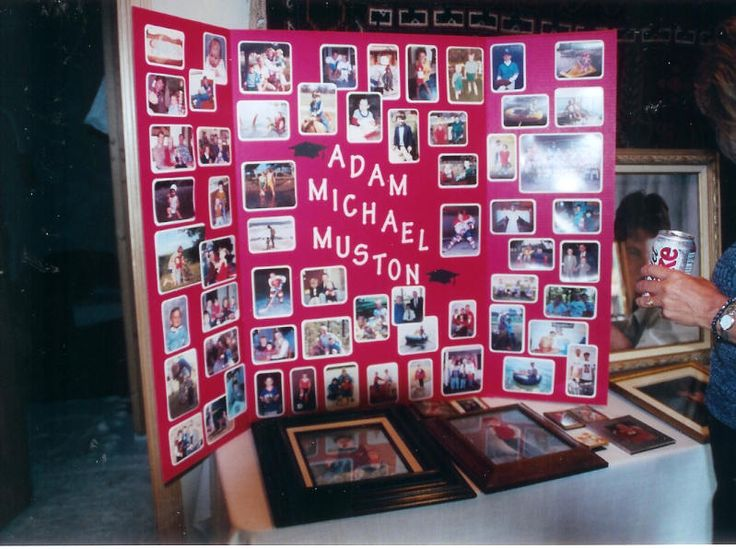 25 best ideas about graduation picture boards on for Creative poster board ideas