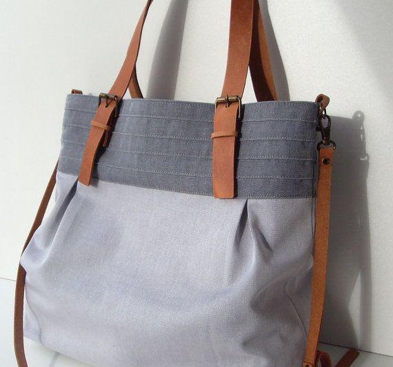Grey Tote Bags Pinterest'te hakkında 1000'den fazla fikir   Sepet ...