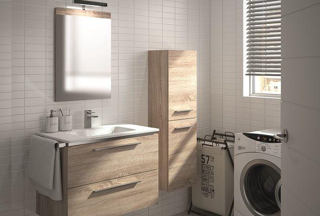 104 best Collin Arredo images on Pinterest Bathroom, Rock pools - meuble salle de bain en chene massif