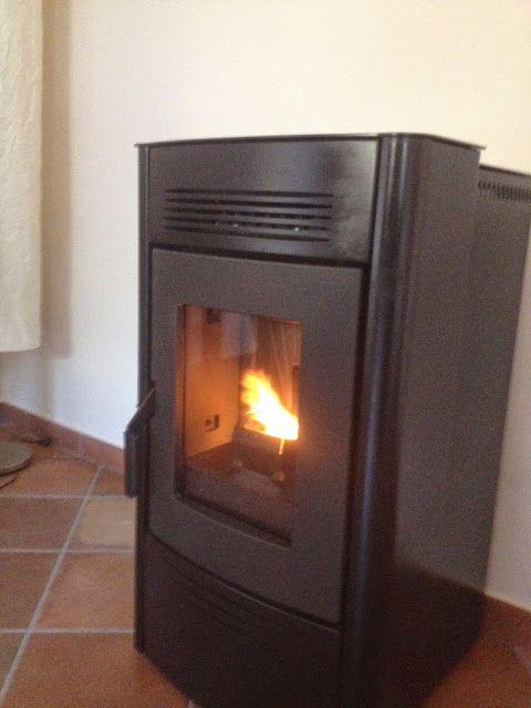 Chimeneas Picos de Europa: Instalación estufa de Pellets Moralzarzal