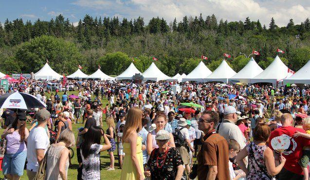 Heritage Festival Edmonton August 3 - 5, 2013 William Hawrelak Park