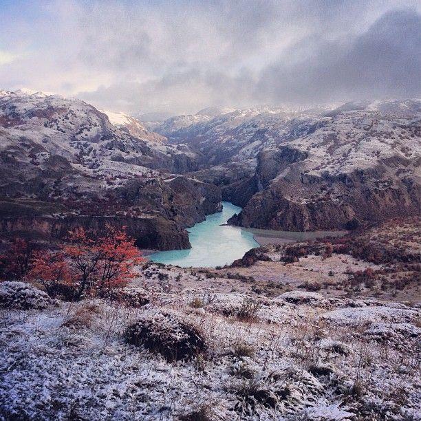 Confluencia ríos Baker y Chacabuco, XI Región de Aysén. Fotografía de Felipe Guler