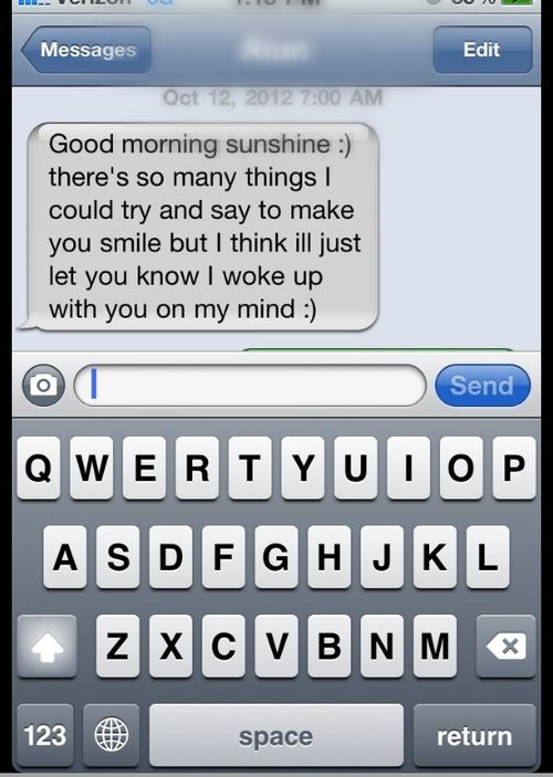 Texts To Send A Girl To Make Her Smile