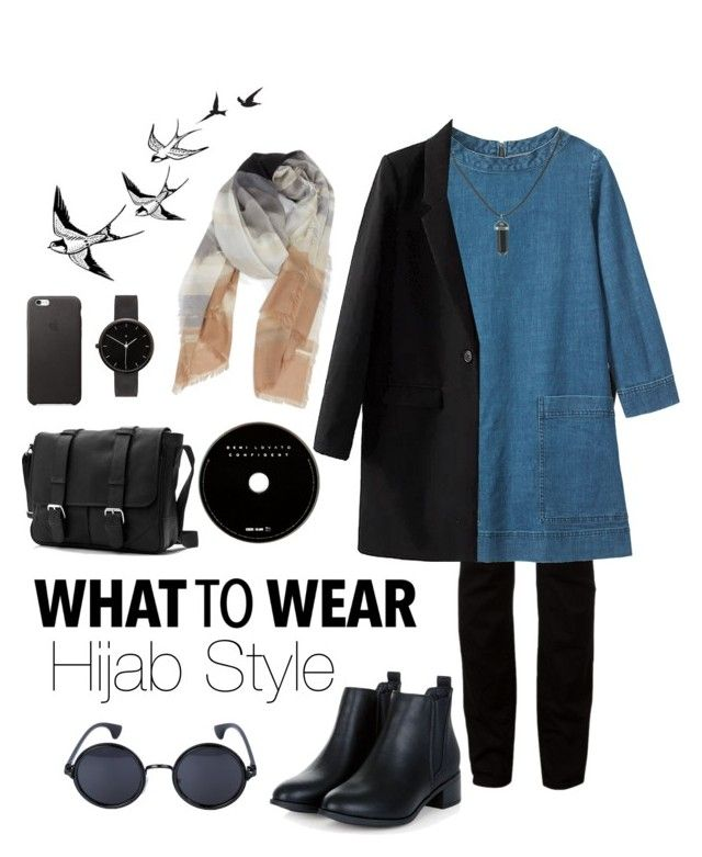 """""""Hijab Style"""" by rabiasemx on Polyvore featuring T By Alexander Wang, Toast, I Love Ugly, Nordstrom, women's clothing, women, female, woman, misses and juniors"""