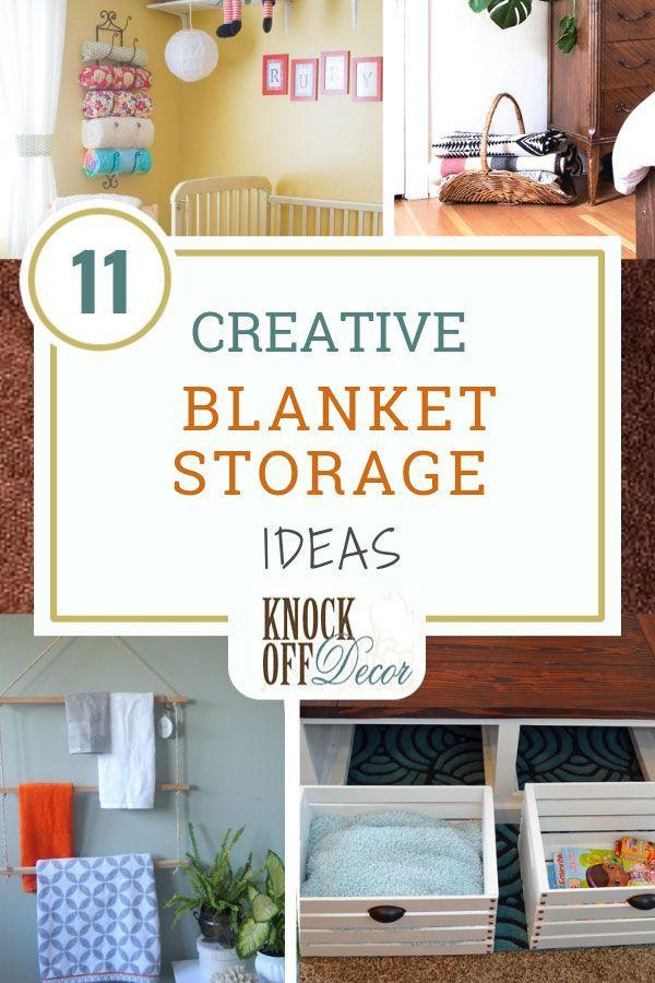 11 Best Blanket Storage Ideas Knockoffdecor Com Blanket Storage Living Room Living Room Blanket Blanket Storage