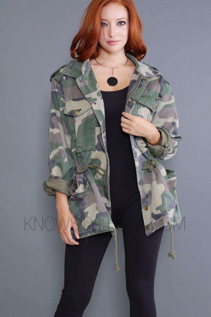 Army Boyfriend Jacket
