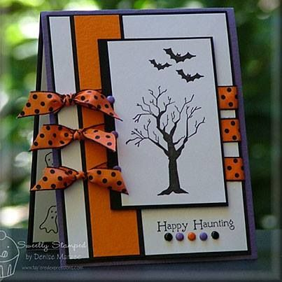 Halloween card or invitation idea