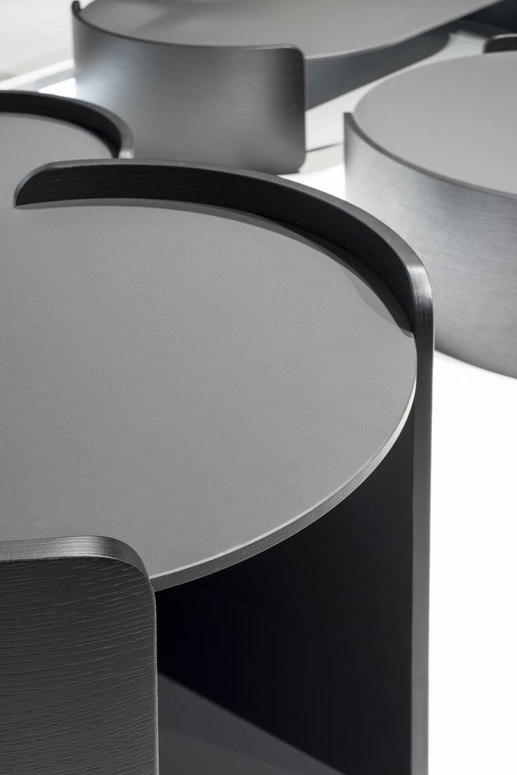 Don't be a square! Get FENIX NTM surfaces on round coffee tables. Who doesn't love a modern matte surface in a contemporary living room?