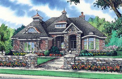 Best 25 stone house plans ideas on pinterest modern for Rivendell cottage house plans