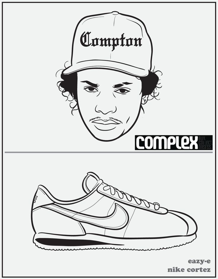 Rap Coloring Book Eazy E