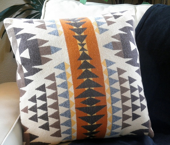Diamond Desert Wool Pillow by UrbanCamp