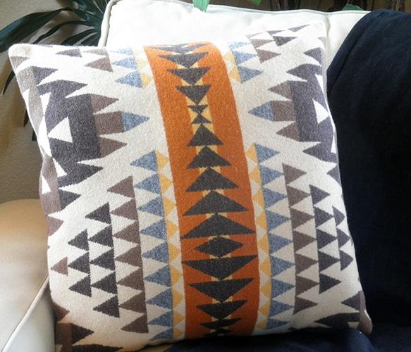 Diamond Desert Wool Pillow by UrbanCamp