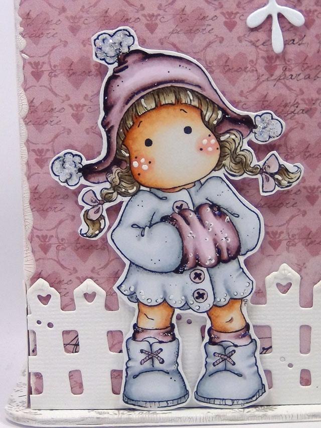 DeeDee´s Card Art: ♥ Tilda's Town Challenge - Celebrate Christmas ♥