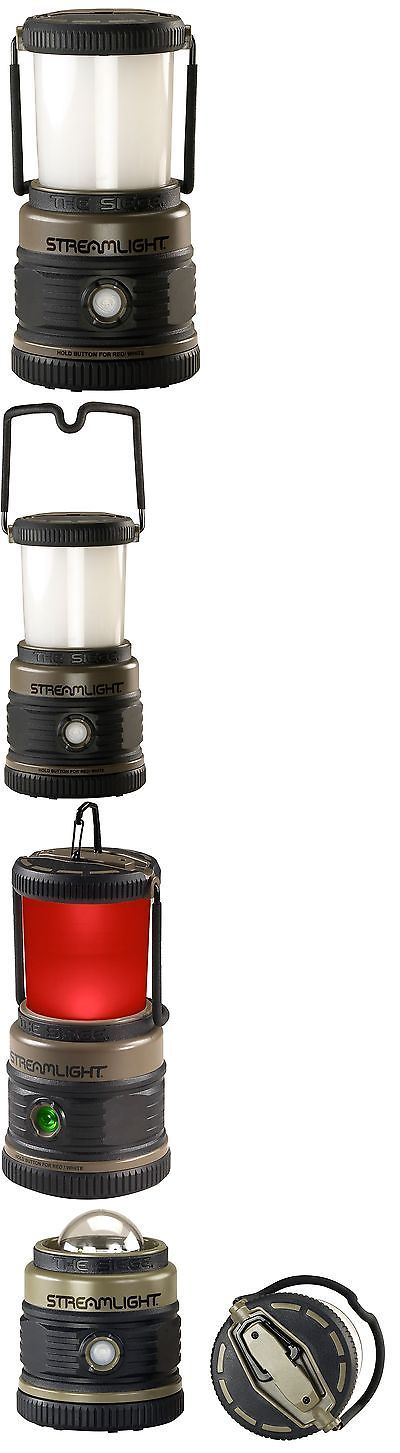 Lanterns 168867: Streamlight 44931 The Siege Lantern Coyote Coyote Green 340 Lumen 3Xd Battery BUY IT NOW ONLY: $33.01