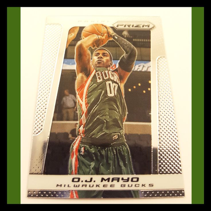 O. J. Mayo Basketball Card (2013-14 Prizm)