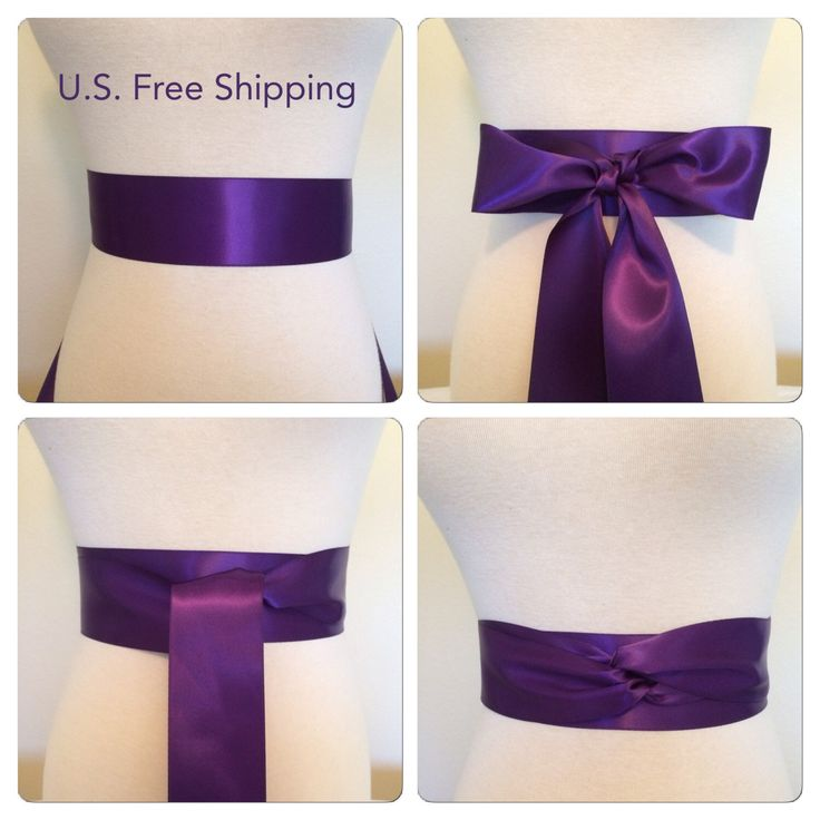 Grappa -Deep purple satin sash.  2.25 inches wide ribbon sash Double faced satin sash. Satin Bridal sash. Simple sash. Bridesmaid satin sash by Bridalmefancy on Etsy https://www.etsy.com/listing/218637547/grappa-deep-purple-satin-sash-225-inches