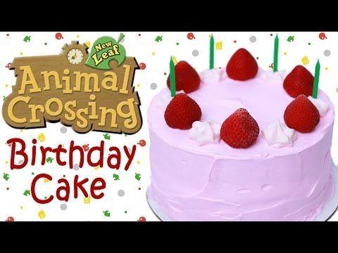 ANIMAL CROSSING BIRTHDAY CAKE - NERDY NUMMIES - YouTube
