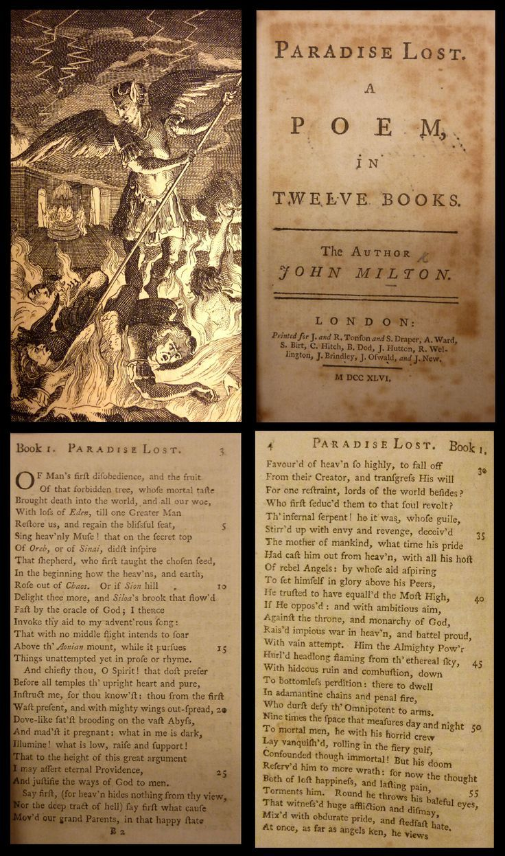 """ecofeminism and john milton s paradise lost John milton, paradise lost (penguin, 2000)  feb 5: ecofeminism, eating, and the country-house (all readings on owl) ben jonson, """"to penshurst."""