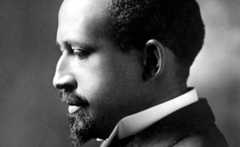 """W.E.B. Du Bois (1868–1963) was a civil rights activist, sociologist, historian, polemicist & editor. He was the 1st African-American to receive a Ph.D. from Harvard & a founder of the NAACP. His book The Souls of Black Folk (1903) in which he described blacks' """"double consciousness"""" and famously predicted, """"The problem of the 20th century is the problem of the color line."""" His writings had enormous influence on civil rights activists & on the burgeoning fields of black history and black…"""
